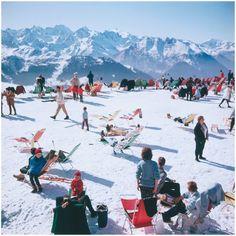 Ski party, Slim Aarons
