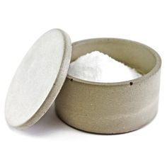 Small Concrete Salt Cellar Grey, £15, now featured on Fab.