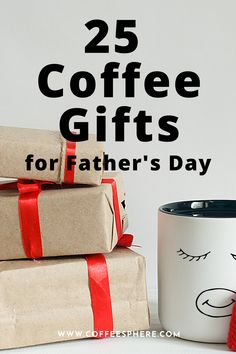 Father's day is approaching and it's always a good idea to give the gift of coffee, especially for coffee loving dads. Coffee Gifts, Gifts For Father, Birthdays, Dads, Anniversaries, Birthday, Fathers, Birth Day