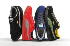 aff6a68615016 Puma The List - Re-Suede Color Pack