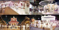 กรมพัฒนาชุมชน กระทรวงมหาดไทย แนวคิด ไทยทำ ไทยใช้ พัฒนาเศรษฐกิจไทยสู่สากล Theme POLYGON ART TEXTURE DESIGN Thai Design, Set Design, Art Texture, Booth Design, Exhibitions, Pavilion, Mall, Festive, Backdrops