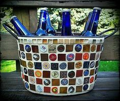 Bottle Caps Recycling Ideas | Upcycle Art (shared via SlingPic)