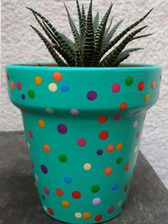 You can make your own DIY flower pot for your garden. Not to mention, you can specify a cocktail back on the surface of the fence! Arrange a variety of cactus and succulents, even to decorate your own pots for fun DIY weekend activities. Flower Pot Art, Clay Flower Pots, Flower Pot Crafts, Clay Pot Crafts, Clay Pots, Flower Pot Design, Cactus Flower, Flower Bookey, Flower Film