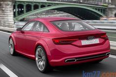 km77.com - Audi TT Sportback concept Turismo Exterior Posterior-Lateral 5 puertas