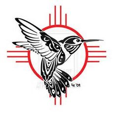 In Native American culture, a hummingbird symbolizes timeless joy and the Nectar of Life. It's a symbol for accomplishing that which seems impossible and will teach you how to find the miracle of joyful living from your own life circumstances.  It stands for immortality. Or sometimes the Sun.