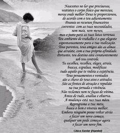 blogAuriMartini: Os mais belos pensamentos de Chico Xavier http://wwwblogtche-auri.blogspot.com.br/2013/01/os-mais-belos-pensamentos-de-chico.html