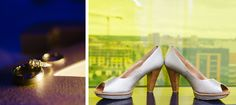 brides shoes with yellow window at Guthrie theater minneapolis mn
