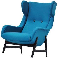 Papa Bear Easy Chair Holland 1960 | 1stdibs.com