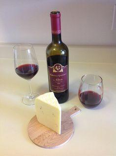Gianelli Vineyards Nebbiolo and Italian Truffle Cheese