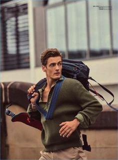 Leo Eller GQ China May 2017, photographed by Yu Cong  : men's fashion editorial fashion photography