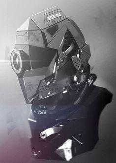Concept Art by Tonatiuh OcampoMore robots here.