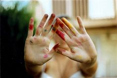 painted hands #photography