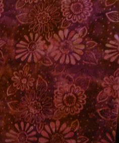 Batik Fabric Batavian Batik South Seas by SuesFabricNSupplies, $11.95