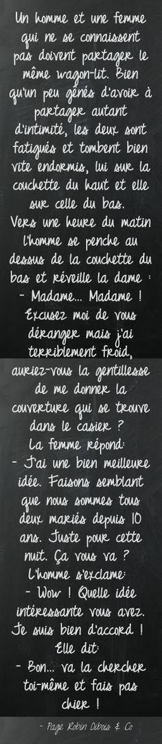 Le bon vieux couple - oh boy, that is too good !!