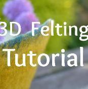 Wet Felting: How To Make 3D Felt Vessels - via @Craftsy