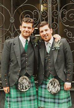 Groom and his best man. Phil & Ashleigh's Wedding at the Old Fruitmarket, Glasgow, Scotland. Tartan Skirts, Tartan Wedding, Tiffany Theme, Tartan Fashion, Scottish Kilts, Young Old, Men In Kilts, Glasgow Scotland, Komplette Outfits