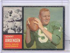 1962 Topps 115 Sonny Jurgensen Philadelphia Eagles EX | eBay