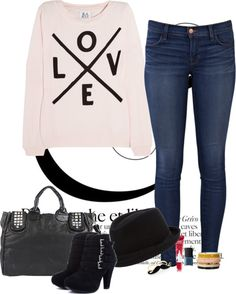 """""""Troublemaker"""" by anamfs ❤ liked on Polyvore"""