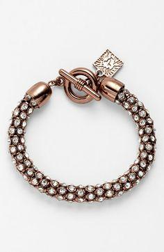 Anne Klein Pavé Toggle Bracelet | Nordstrom