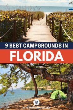 Best Campgrounds in Florida. Whether you're looking for Rv parks, a place to pit. Best Campgrounds in Florida. Whether you're looking for Rv parks, a place to pitch your tent, a campsite to explore Florida Camping, Beach Camping, Florida Vacation, Florida Travel, Florida Beaches, Tent Camping, Campsite, Camping Hacks, Outdoor Camping