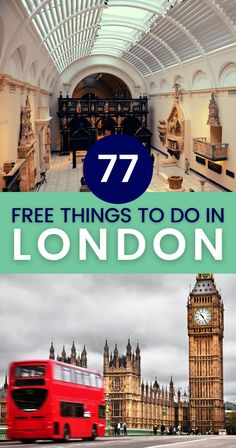 Good news for travelers: low GBP rates make traveling in the UK very affordable. Plus we have a huge list of free things to do in London for you! | London free activities | Free things to do and see in London | London free things to do Travel Tips For Europe, Road Trip Europe, Travel Destinations, Travel Abroad, Budget Travel, Things To Do In London, Free Things To Do, Interesting Facts About London, European Destination