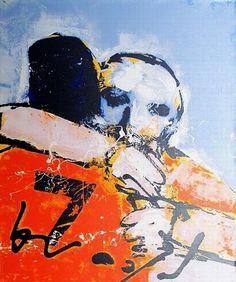 Herman Brood, Nummer 7 (op linnen)  50 x 60