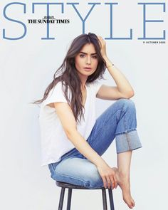 Lily Collins Hair, Lily Collins Style, Foreign Celebrities, Hollywood Celebrities, Beauty And The Beat, Fashion Magazine Cover, Magazine Covers, Beautiful Celebrities, Beautiful Actresses