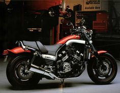 2005 Yamaha Vmax 20th Anniversary Limited Edition Flyer - Front