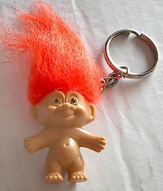 RUSS TROLL KEYCHAIN with Orange Hair [Key Ring] Russ http://www.amazon.com/dp/B006F926RK/ref=cm_sw_r_pi_dp_VwA8vb10K7BMC