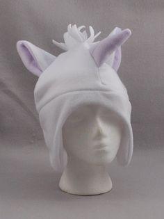 Items similar to Unicorn Horse Earflap with Ties Beanie Animal Fleece Hat  Anime Lolita Cosplay Skiing Snowboarding Gothic Punk AVIATOR on Etsy ac45e480abde