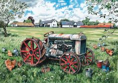 paintings of standard fordsons - Google Search