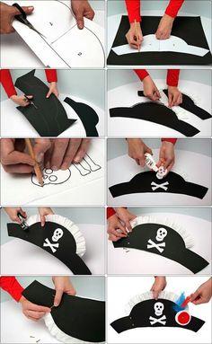 Make a pirate hat.