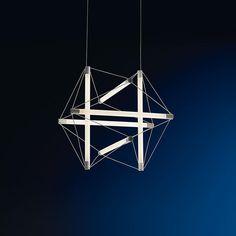 Light Structure, Ingo Maurer + Peter Hamburger