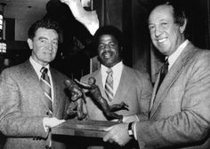 As a scribe for the Baltimore News American and, after it folded in 1984, for The Baltimore Sun, Steadman (pictured, left) set the standard for sports reporting in Charm City. He, almost alone, predicted the Orioles would win the 1966 World Series over the heavily favored L.A. Dodgers. Smart man.