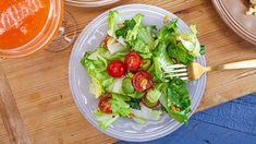Giada De Laurentiis' Tomato, Avocado and Escarole Salad Recipe