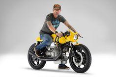 TOP 10 custom motorcycles of 2014. Senna tribute by Marcus Walz