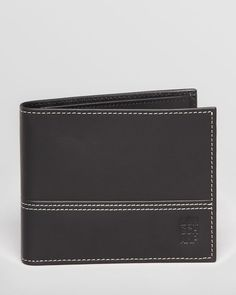 Longchamp Cavalier Leather Bi-Fold Wallet