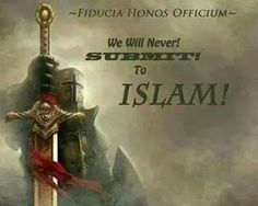 As an American - I will never submit to Islam. #MOLON LABE