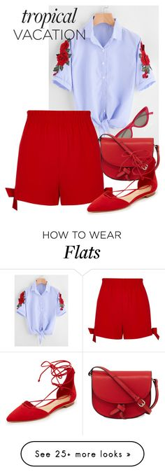 """Untitled #1088"" by bellatrix87 on Polyvore featuring River Island, Le Specs, KC Jagger and Schutz"