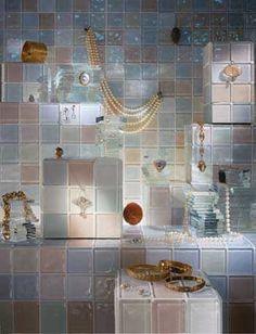 Piastrella a muro / in vetro / lucida / aspetto mosaico STARLIGHTS interstyle ceramic + glass