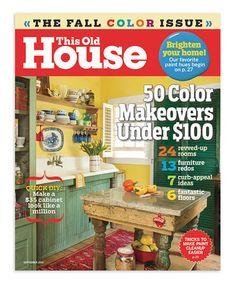old house journal 1 year magazine subscription active interest media httpwwwamazoncomdpb000cqnkb8refcm_sw_r_pi_dp_sylmtb1btas5x pinterest - Houses Magazine Subscription