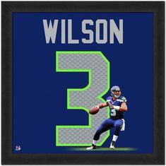 1d72d9336bb Seattle Seahawks Russell Wilson Framed Jersey Photo. Seahawks GearSeahawks  FansSeattle ...