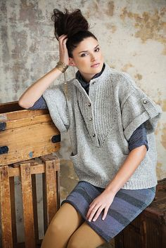 This sweater is awesome. Vogue Knitting 2011 Fall