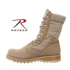 Rothco G.I. Type Ripple Sole Desert Tan Jungle Boots