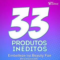 BELEZA EM AÇÃO: NOVOS Lançamentos da EMBELLEZE na Beauty Fair