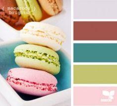 Macaroon Colour Scheme
