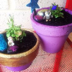 My little fairy pots