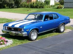 Chevy Nova, Nova Car, Chevy Ss, Car Chevrolet, Crate Motors, Classy Cars, Sexy Cars, Chevy Muscle Cars, Old School Cars