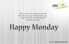 #CRSGroup wishes to everyone Have A Nice #Day!! #HappyMonday!! www.crsgroupindia.com #Monday