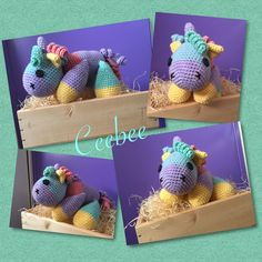 Crochet Unicorn 💙